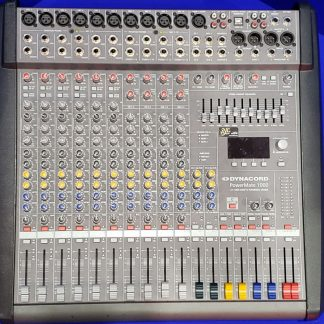 Dynacord Powermate 1000 Mk2 Powered Mixers